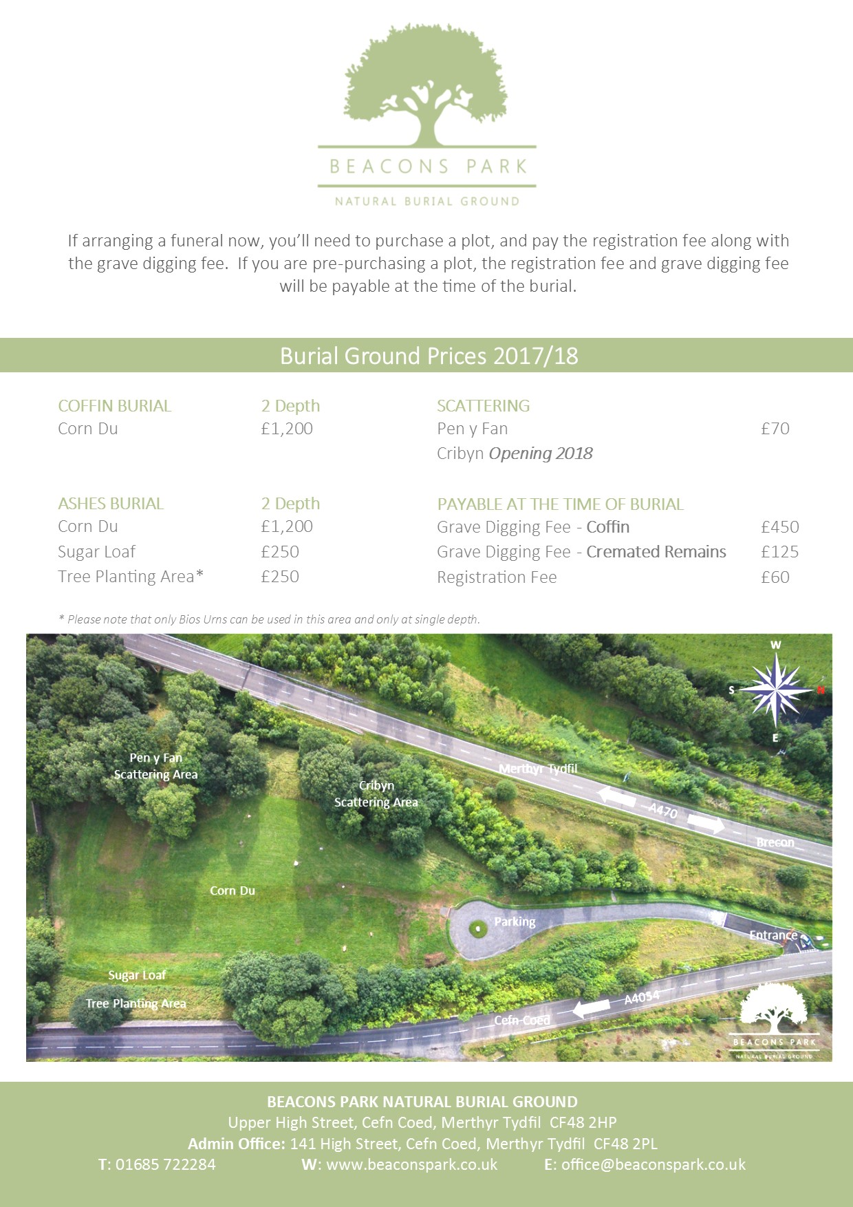 natural burial   harp funeral services   merthyr tydfil